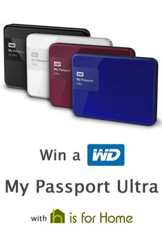 #Win a Western Digital My Passport Ultra 1TB hard drive with @hisforhome Click here to enter => http://4ho.me/P-Ultra #competition #giveaway