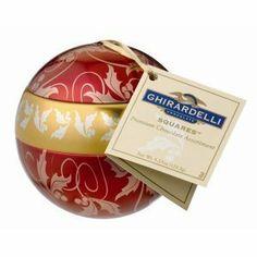 Ghirardelli Chocolate Christmas Ornament Chocolates