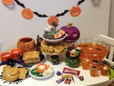 American Girl Doll Food Halloween Food by annsAGminiatures via Etsy