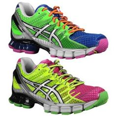 Obviously I want these, they were invented in my brain and now they're REAL!!! :) ASICS® Gel - Kinsei 4 - Women's - Running - Shoes - Mosaic/White