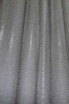 Lelabo design d co s paration pi ce pinterest designs de rideaux pla - Rideau cotte de maille prix ...
