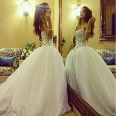 Wedding Dresses,Bridal Gowns,Bridal Dresses,Wedding Dresses,Ball Gown Wedding Dresses,Crystal