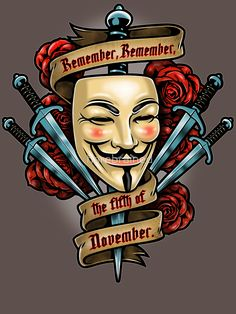 herebrained V for Vendetta Design