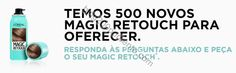 Passatempo L'ORÉAL ganha 1 dos 500 Magic Retouch - http://parapoupar.com/passatempo-loreal-ganha-1-dos-500-magic-retouch/