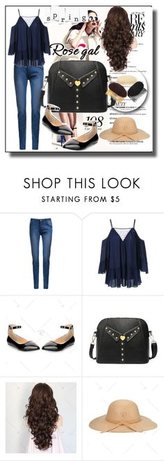 """""""Rosegal 38"""" by samra-bv ❤ liked on Polyvore featuring polyvoreeditorial, polyvorefashion, perfectblouse and rosegalperfection"""