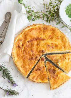 Quiche Lorraine Trend Ok Quiches, Kitchen Recipes, Baking Recipes, Pizza And More, Empanadas, Bread And Pastries, Quiche Recipes, Healthy Diet Recipes, Dairy Free Recipes