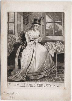 Lewis Walpole Library Digital Collection. 1794, May 12. Emma Corbett.