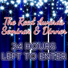 The Reeds 2013 deadline is just 24 hours away. Submit your entries now before it's too late! Submit at www.TheReedAwards.com  #politics #campaigns #election2012