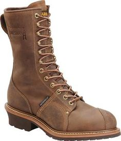 Men's Carolina 10 Waterproof Linesman Boot - Cork Harness