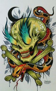 David Tevenal: Tattoo Flash (Video)