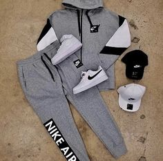 Moda Masculina Juvenil Deportiva - Reality Worlds Tactical Gear Dark Art Relationship Goals Cute Nike Outfits, Cute Lazy Outfits, Swag Outfits Men, Tomboy Outfits, Fresh Outfits, Teen Fashion Outfits, Fashion Mode, Teenager Outfits, Dope Outfits