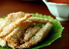 Parm-Garlic Tilapia Sticks