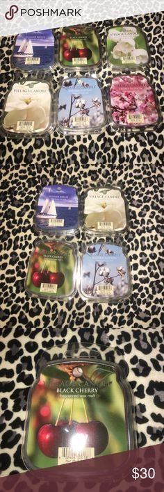 Village Candle Wax Melts 6 count top shelf 4 Village Candle wax melts, As shown! Yankee's Southern Sister! village Candle Other