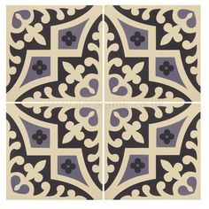 Original Style Tiles   Romanesque Indigo And Dark Blue On White Decorative  Wall And Floor Tile