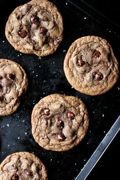 Wicked sweet kitchen: Nutella chocolate chip cookies