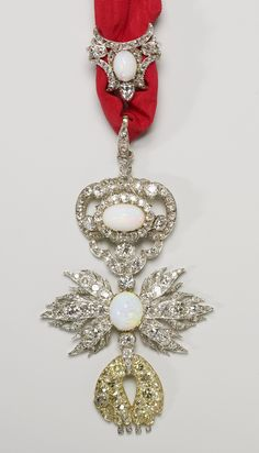 Order of the Golden Fleece (Spanish) - Insignia commissioned by Queen Victoria and presented to Prince Albert on his birthday, 1841