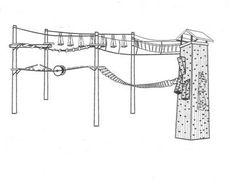 Ropes Course Diagram