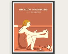 The Royal Tenenbaums Wes Anderson Gwenyth by CultClassicPosters