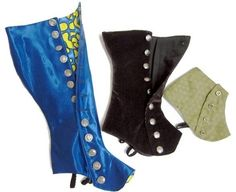 """**This listing is for a PDF pattern, NOT finished spats**  3 boot lengths x 3 heel heights. That's 9 patterns in one! This pattern includes ankle high, mid-calf, and knee high spats in 1"""", 2"""" and 3"""" heel heights. Think about it… spats designed for flat shoes would stick out like a diving board on a 3"""" heel. I don't believe that's a look anyone would do if they had a choice. This listing is for the pattern in a size LARGE (fits a women's US shoe size 9-10, EUR 40-42). It is also available in…"""