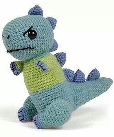 Dinosaurus (gehaakt)