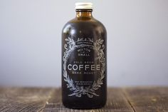 Cold brew coffee...