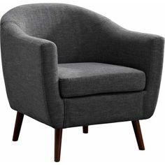 Simpli Home Roundstone Tub Chair