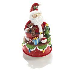 Boite à musique père noël - Noël Traditionnel