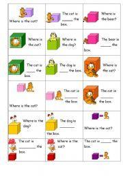 images prépositions