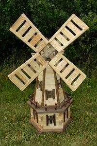 WKN5   Wiatrak Ogrodowy,garden Windmills,garten Windmuhlen,dekoracje Do  Ogrodu,garden