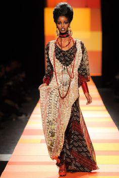 Jean Paul Gaultier Spring 2013 Couture Fashion Show - Senait Gidey (IMG)