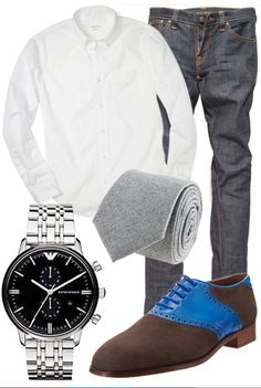 Summer Outfits for Men...not to fond of the shoes though.