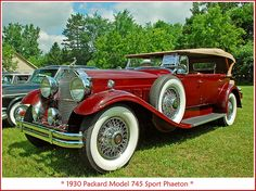 1930 Packard Sport Phaeton | Flickr - Photo Sharing!
