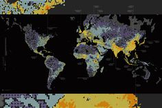 Infographic of the Day: A Strange, Brilliant Map Of The World's Population | Co.Design | business + design