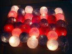 35 Baumwolle Kugel Licht 35 Meter Zeichenfolge von cottonlight