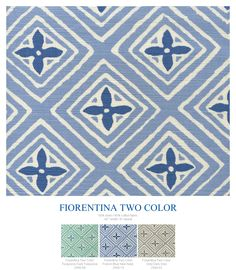 China Seas Fiorentina Two Color. Added March 2015.