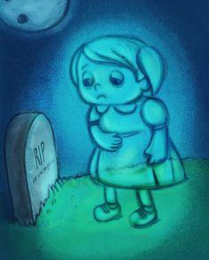 Sketchbook- Monster Week-Ghost Girl - Angie Jones Illustration