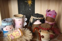 toilet roll nativity set - happy hooligans - homemade nativity set