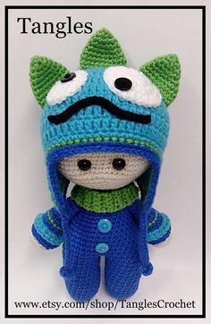 Monster Baby  muñeca de cabeza grande  hecho por encargo