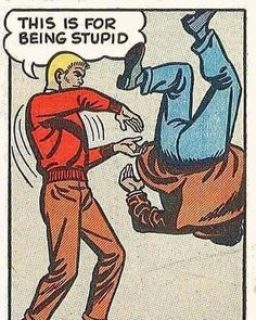 Funny Pics: 33 of the Random Crazy Weird & Hilarious - Movie And Comic Comics Vintage, Vintage Comic Books, Comic Books Art, Comic Art, Book Art, Vintage Cartoon, Bd Comics, Archie Comics, Anime Comics