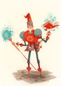 tmackart:  A wizardly explorer.