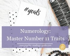 Numerology number 11 is the first of the master numbers. If you have this number, you have a special spiritual path and one major challenge to overcome.