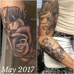 Tattoos, Sleeve, Flowers, Manga, Tatuajes, Tattoo, Japanese Tattoos, Tattoo Illustration, Royal Icing Flowers