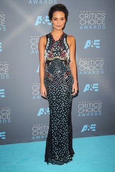 Alicia Vikander | The Critics' Choice Awards, January 2016.