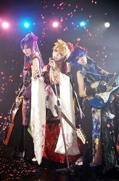 Kagamine Len, Gakupo Kamui & Kaito (VOCALOID) by Mon