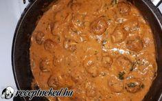 Bakonyi húsgombóc spagettivel recept malmos szilvia konyhájából - Receptneked.hu