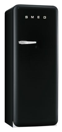 Smeg, retro 50's in black