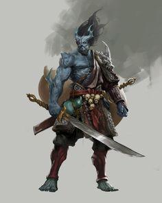 Men in fantasy art Fantasy Warrior, Fantasy Rpg, Dark Fantasy, Fantasy Races, Medieval Fantasy, Fantasy Samurai, Woman Warrior, Fantasy Character Design, Character Concept