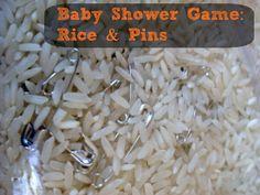 Rice & Pins Game