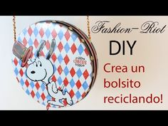 YouTube Ladylike Style, Diy Videos, Projects To Try, Diy Bags, Bottle Caps, Crafty, Tapas, Biscuits, Fashion Ideas