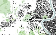 Vatican City green map, 1:10.000 St Peters Basilica, Vatican City, City Maps, Master Plan, Urban Landscape, Cartography, Planer, Presentation, 1
